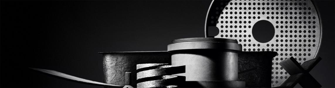 Graphite Materials I Materialübersicht auf Schwarz I ANDY BRUNNER photography